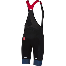 Castelli Free Aero Race Bibshorts Men black/dark infinity blue